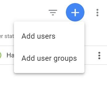 Přidání uživatele v GTM